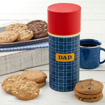 Mrs. Fields Fathers Day Cookie Thermos