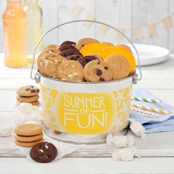 Mrs. Fields® Summer Time Cookie Pail