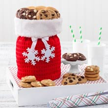 Santa's Christmas Cookie Tote