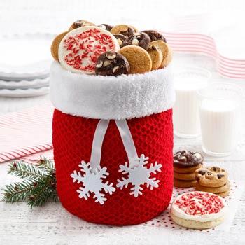 Santa's Christmas Cookie Tote