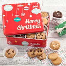 Mrs. Fields® Christmas Cookie Gift Tin