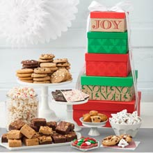 Mrs. Fields® Festive Gift Tower