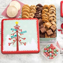 Mrs. Fields® Christmas Cookie Tin