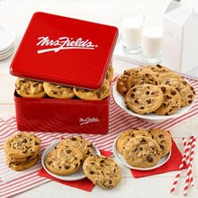Mrs. Fields Chocolate Chip Cookies Gift Tin