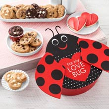 Mrs. Fields Valentines Day Love Bug Gift