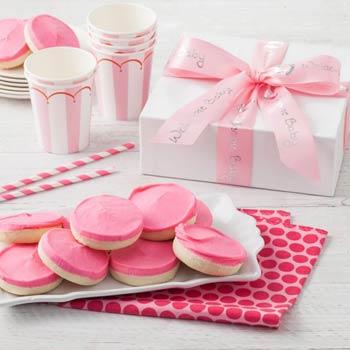 Mrs. Field's® Newborn Girl Cookie Box