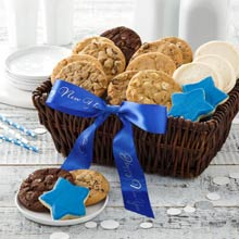 Happy New Year Cookie Basket