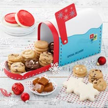 Mrs. Fields® Holiday Cookie Mailbox