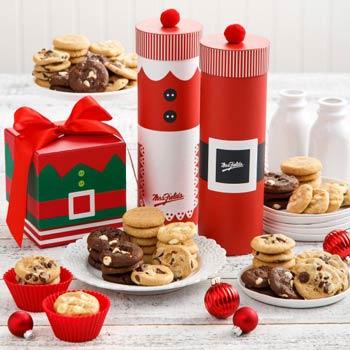 Mrs. Fields® Santa Cookie Box