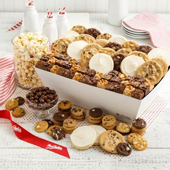 Mrs. Fields Holiday Cookie Basket