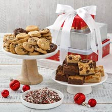 Mrs. Fields® Gourmet Christmas Tower