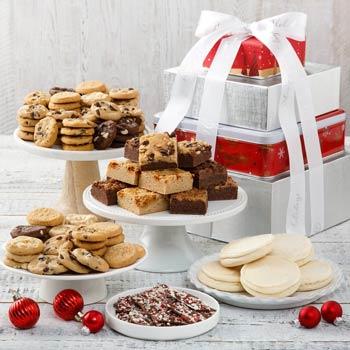 Mrs. Fields® Gourmet Christmas Tower