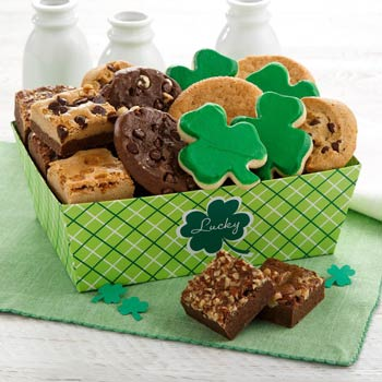 St. Patrick's Day Cookie Basket