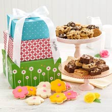 Mrs. Fields Spring Cookie Gift Tower