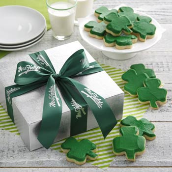 Mrs. Fields Shamrock Cookie Gift