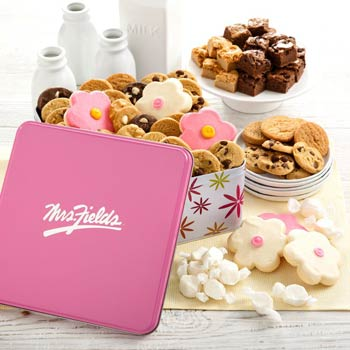 Mrs. Fields® Spring Cookie Tin