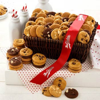Mrs. Fields Executive Mini Cookie Gift Basket