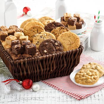 Mrs. Fields Ultimate Cookies and Brownies Basket