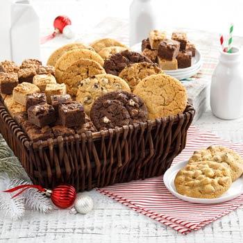 Mrs. Fields Ultimate Cookies and Brownies Basket