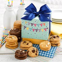 Mrs. Fields® Birthday Cookie Gift Box