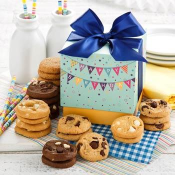 Mrs. Fields® Birthday Cookie Gift Box