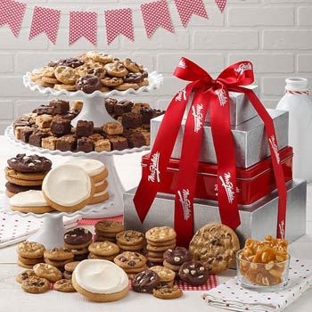 Mrs. Fields Corporate Cookie Gift Tower