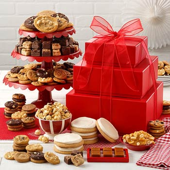 Mrs. Fields Cookie Tower