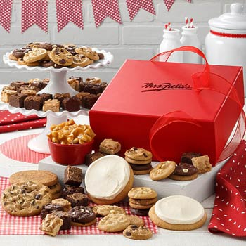 Mrs. Fields Holiday Gift Box
