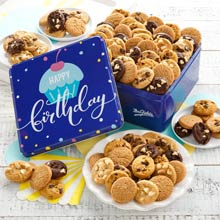 Mrs. Fields Birthday Cookie Gift Tin