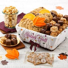 Mrs. Fields Autumn Harvest Basket