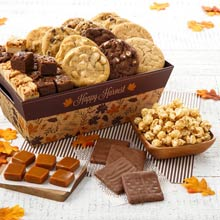 Mrs. Fields Harvest Treats Basket