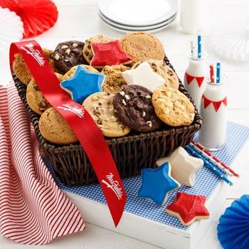 Mrs. Fields® Patriotic Cookie Basket