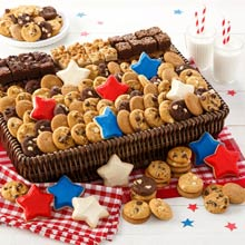 Mrs. Fields Patriotic Cookie Basket