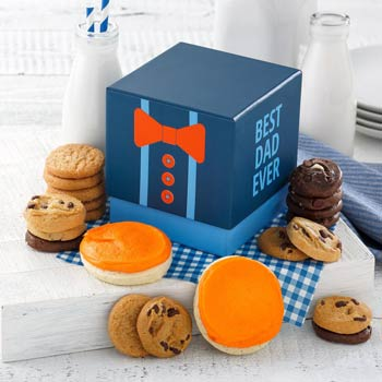 Mrs. Fields Fathers Day Tie Cookie Box