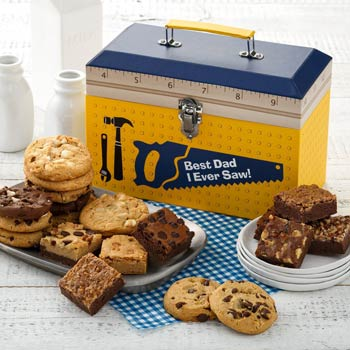 Mrs. Fields Fathers Day Cookie Tool Gift Box