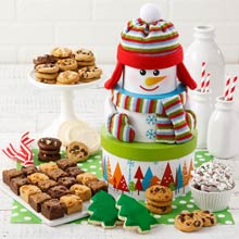 Mrs. Fields® Friendly Holiday Snowman