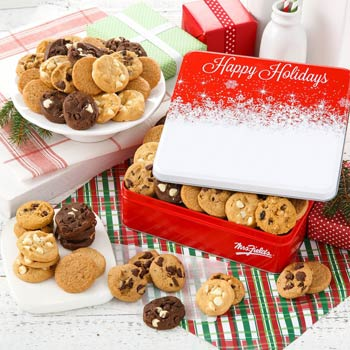 Mrs. Field's® Holiday Cookie Tin