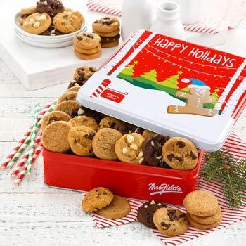 Mrs. Fields® Seasons Greetings Cookie Tin