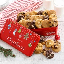 Mrs. Fields® Merry Christmas Cookie Tin