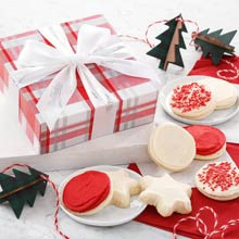 Festive Christmas Cookie Gift Box