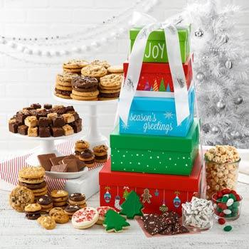 Mrs. Fields® Festive Gift Tower