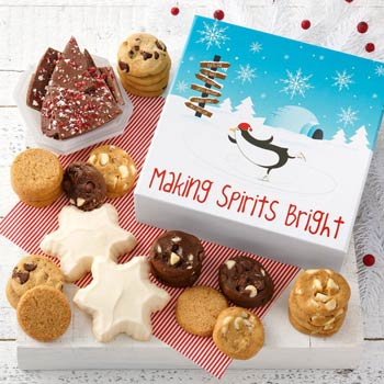 Mrs. Fields Holiday Celebration Cookie Box