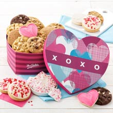 Mrs. Fields Valentines Day Heart Box