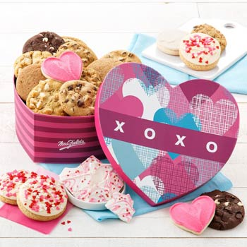 Mrs. Fields Valentines Day Heart Box