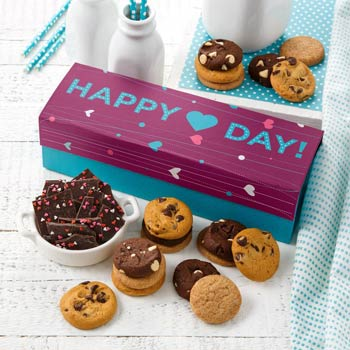 Mrs. Fields Valentines Day Cookie Gift Box