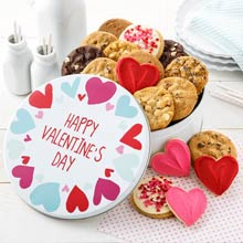 Valentines Day Cookie Tin