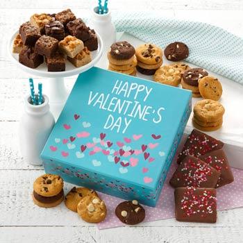 Mrs. Fields Valentines Cookie Gift Box