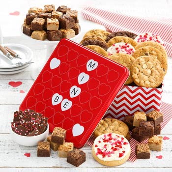Happy Valentines Day Cookie Gift Box