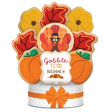 Thanksgiving Cookie Gift Bouquet