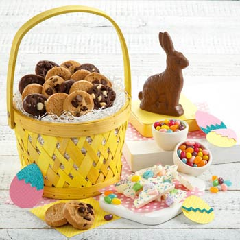 Mrs. Fields Easter Cookie Basket